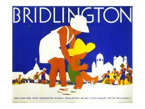 Bridlington, LNER Poster, circa 1935 by Tom Purvis