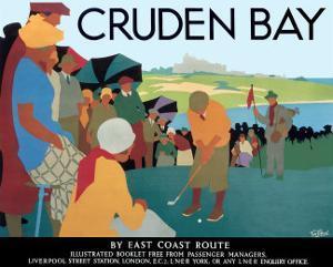 LNER, Cruden Bay, c.1930 by Tom Purvis