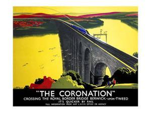 The Coronation, LNER Poster, 1923-1947 by Tom Purvis