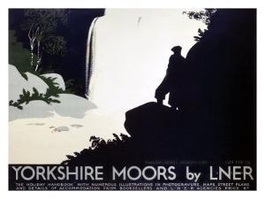 Yorkshire Moors, LNER by Tom Purvis
