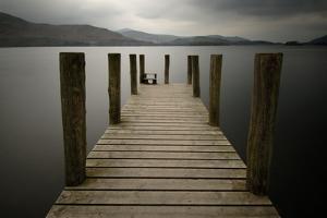 Lakeside Pier 2 by Tom Quartermaine