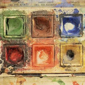 Lovely Old and Used Paints by Tom Quartermaine