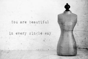 Mannequin with Quote by Tom Quartermaine