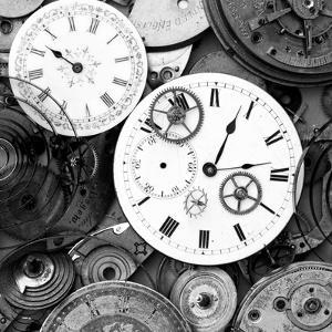 Pieces of Old Watch BW by Tom Quartermaine