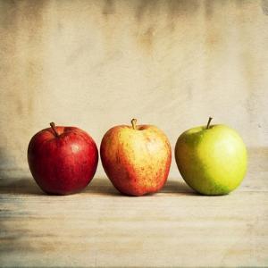 Row Of Antique Fruit by Tom Quartermaine