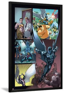 Origins of Marvel Comics: X-Men No.1: Archangel Flying by Tom Raney