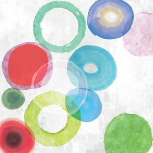 Colourful Rings I by Tom Reeves