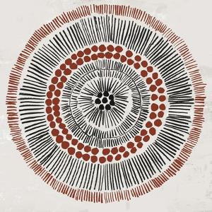 Round Tribal I by Tom Reeves
