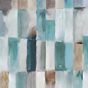 Stripes of Teal I by Tom Reeves