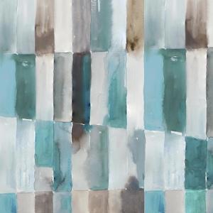 Stripes of Teal II by Tom Reeves