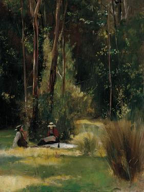 A Sunday Afternoon by Tom Roberts
