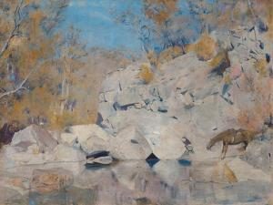 In a Corner on the Macintyre by Tom Roberts