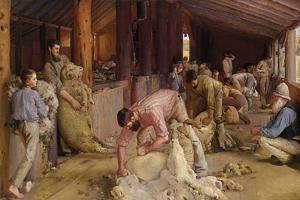 Shearing the Rams by Tom Roberts