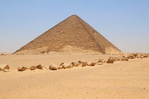 Red Pyramid by Tom Schwabel