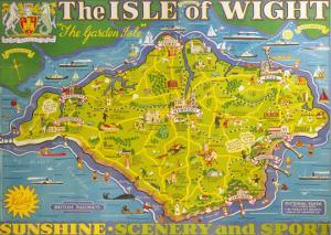 The Isle of Wight, BR, c.1949 by Tom Smith