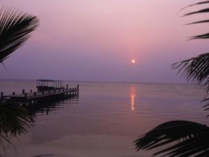 West End in Roatan, Bay Islands, Honduras by Tom Stillo