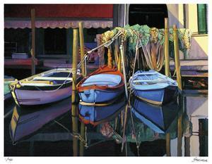 Chioggia Boats by Tom Swimm