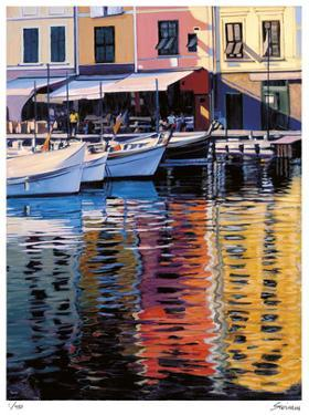 Reflections of Portofino by Tom Swimm