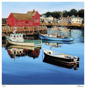 Rockport Harbor by Tom Swimm