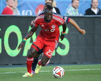 Aug 23, 2014 - MLS: Chicago Fire vs Toronto FC - Dominic Oduro