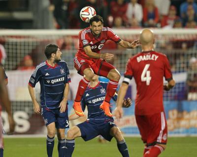 Aug 23, 2014 - MLS: Chicago Fire vs Toronto FC - Gilberto