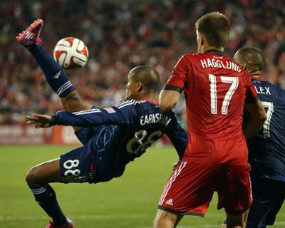 Aug 23, 2014 - MLS: Chicago Fire vs Toronto FC - Robert Earnshaw