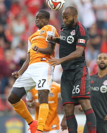 Jul 12, 2014 - MLS: Houston Dynamo vs Toronto FC - Boniek Garcia