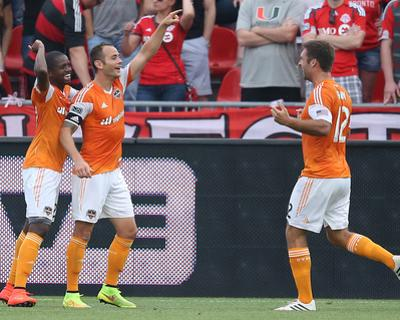 Jul 12, 2014 - MLS: Houston Dynamo vs Toronto FC - Brad Davis