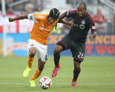 Jul 12, 2014 - MLS: Houston Dynamo vs Toronto FC - Ricardo Clark