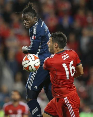 Jul 16, 2014 - MLS: Vancouver Whitecaps vs Toronto FC - Darren Mattocks, Bradley Orr