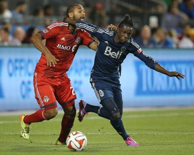 Jul 16, 2014 - MLS: Vancouver Whitecaps vs Toronto FC - Darren Mattocks