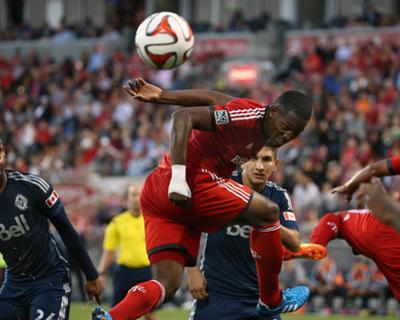 Jul 16, 2014 - MLS: Vancouver Whitecaps vs Toronto FC - Doneil Henry