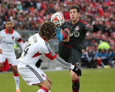 Mar 22, 2014 - MLS: D.C. United vs Toronto FC - Alvaro Rey
