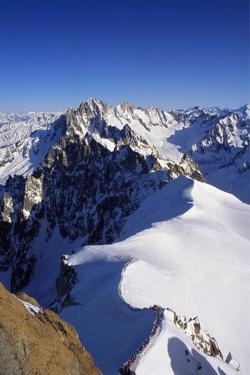 Aiguille Du Midi, Chamonix, France, Europe by Tom Teegan