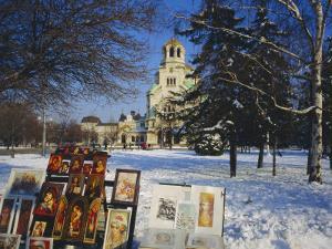 Alexander Nevski Cathedral, Sophia, Bulgaria by Tom Teegan