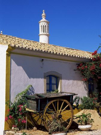 Farmhouse with Cart and Chimney, Silves, Algarve, Portugal