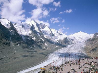 Grossglockner Glacier, the Longest Glacier in Europe, Hohe Tauern National Park, Austria