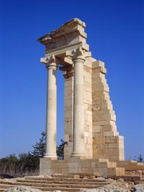 Roman Temple of Apollo, Kourion, Cyprus, Europe by Tom Teegan