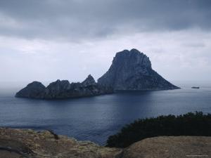 The Island of Vedra off the Coast of Ibiza, Balearic Islands, Spain by Tom Teegan