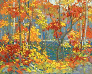 The Pool by Tom Thomson