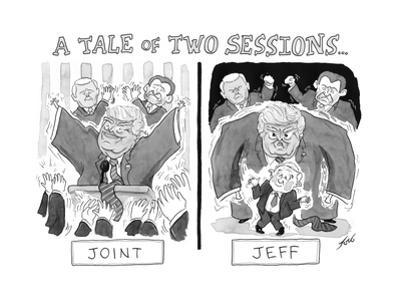 A Tale of Two Sessions... - Cartoon