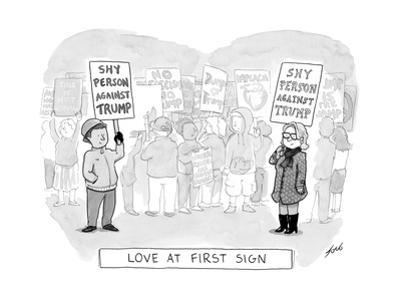 Love at First Sign - Cartoon