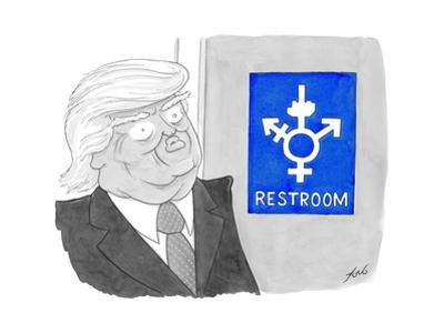 Restroom - Cartoon