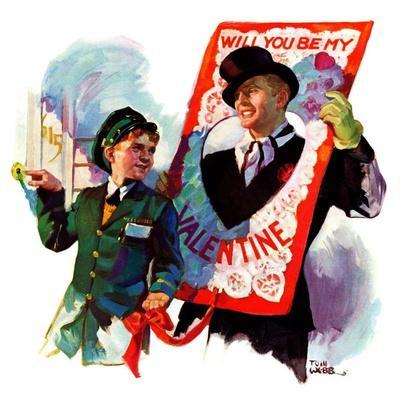 """Giant Valentine,""February 13, 1937"