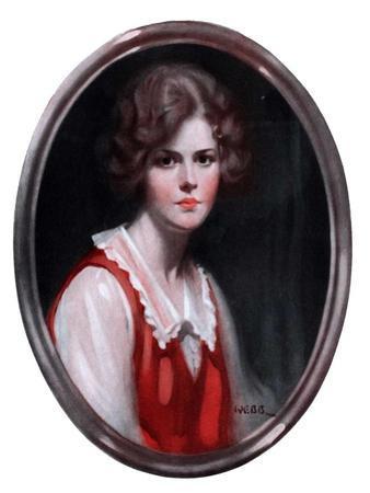 """Oval Portrait,""January 24, 1925"