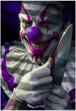 Mischief the Clown by Tom Wood