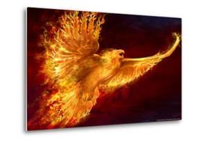 Phoenix Rising by Tom Wood Poster by Tom Wood