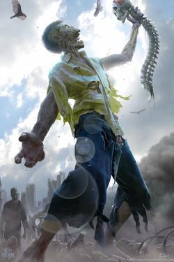 Zombie Scraps by Tom Wood