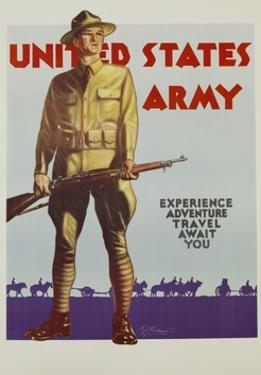 United States Army Poster by Tom Woodburn