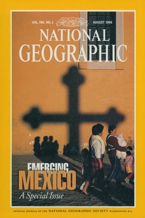 Cover of the August, 1996 National Geographic Magazine